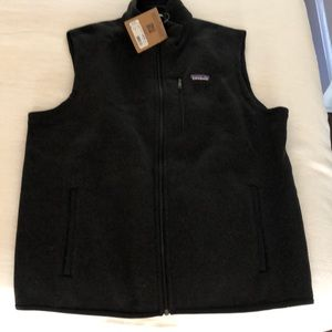 Men's NWT BETTER SWEATER VEST CHARCOAL xl